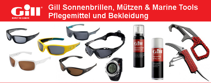 Gill Kleidung Basecaps Uhren Sonnenbrillen kaufen Shop online