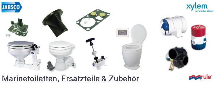 Jabsco Toiletten Servicekit Ersatzteile Dichtungen kaufen