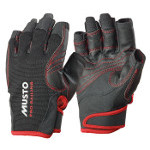 Musto Performance Handschuhe kurze Finger  Black XXL