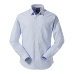 Musto Aiden Oxford Shirt   Pale Blue Größe M