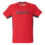 Musto T Shirt Evolution Uv Fast Try Größe Xxl Farbe Rot Carbon